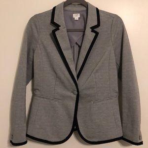 NWOT - Crown & Ivy Gray and Black Suit Coat. Sz 4